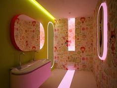 New Theme And Colour For Bathroom In 2015   Pink Decoration