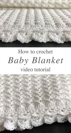 Crochet Baby Blanket Free Pattern, Baby Knitting Patterns, Crochet Baby Afghans, Easy Knit Baby Blanket, Free Baby Blanket Patterns, Crochet Baby Blanket Beginner, Crochet Blankets, Best Baby Blankets, Easy Crochet