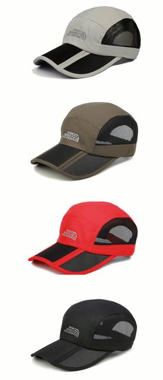 aa0aca338ba Fashion Mens Female Foldable Breathable Quick-dry Baseball Hat Outdoor  Mountaineering Sunshade Cap is hot sale on Newchic.