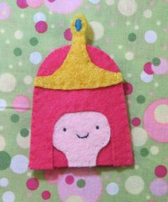 Princess Bubblegum Adventure Time Finger Puppet by applepudding, $4.00