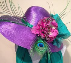 California Chrome Purple Pride Derby Horse by AfternoonCrowns, $330.00
