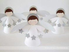 Christmas Angels, Christmas Art, Christmas Projects, Christmas Decorations, Baby Baptism, Baptism Party, Christening, Première Communion, First Holy Communion