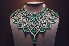 Faberge Emerald/Diamond