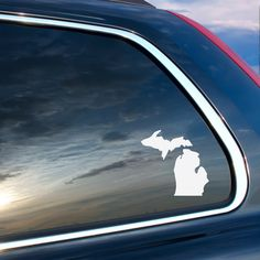 Michigan Upper Peninsula UP Car Vinyl Decal.  Are you a proud resident of MI?  Then you need this decal for your cars window.  Order today: https://www.etsy.com/listing/399252153/michigan-upper-peninsula-up-car-vinyl?utm_source=Pinterest&utm_medium=PageTools&utm_campaign=Share