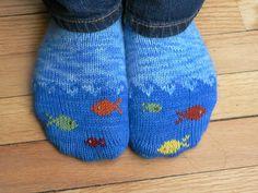 Blij dat ik brei: Warme voeten