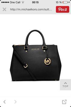 8cc2d99d0ac8 Perfect black purse for work MICHAEL Michael Kors Sutton Large Satchel -  Handbags   Accessories - Macy s