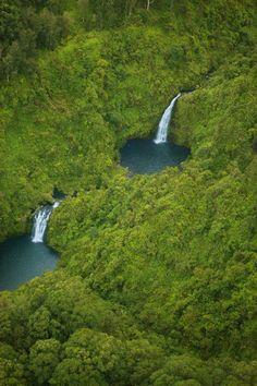 Honokohau Falls, Maui, Hawaii, USA