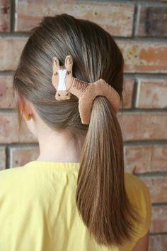 pony tail!