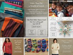 Fair Trade Organic Clothing and Gifts