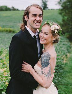 Pennsylvania barn wedding shot by Lydia Jane Photography