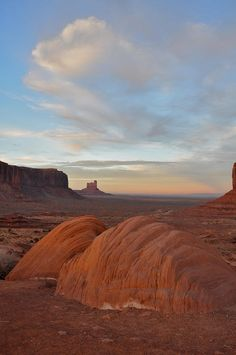 ✯ Evening At Monument Valley