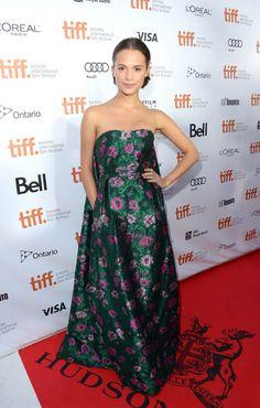 vikander | Alicia Vikander At 2013 Toronto International Film Festival