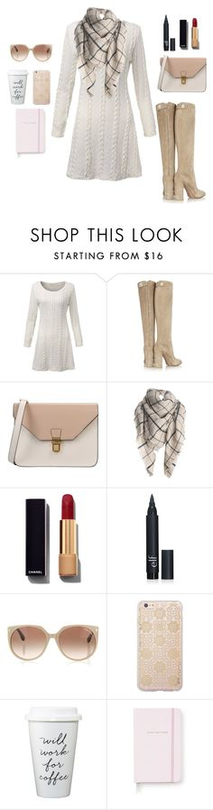 """""""inspiration"""" by monika1555 on Polyvore featuring Gianvito Rossi, 8, Chanel, Tom Ford, Sonix, Kate Spade, women's clothing, women, female and woman"""