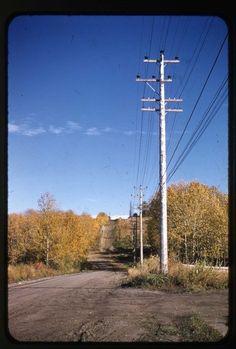55 St looking East. 1955 Red Deer, AB