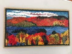 work for RSN course by Suzi Morris, needlepoint