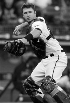 SF Giant's catcher, Buster Posey. Together we are GIANT!