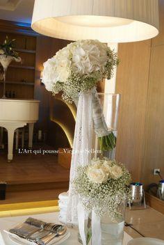 Mariage blanc / Les buffets...