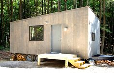 """The Harvard student startup company, Getaway, recently announced their newest project: a 100% off-grid, solar-powered tiny-home they have dubbed """"Lorraine"""". Lorraine is just one of many micro-homes that the company handcrafts and then places throughout the beautiful land in the greater Boston area. The idea behind these rentable micro-homes is that many urbanites often seek …"""