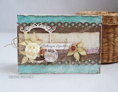 Odskocznia vairatki: Kochanym Dziadkom Scrapbook Paper Crafts, Decorative Boxes, Shabby, Frame, Blog, Cards, Handmade, Inspiration, Beautiful