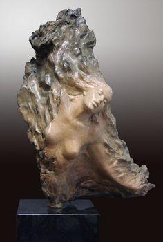 "Ira Reines, Wings of Love, bronze, 24"" H  x 14"" W  x 9"" D"