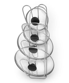 This Bloom Wall Mount Lid Rack by Spectrum Diversified Designs, Inc. is perfect! #zulilyfinds