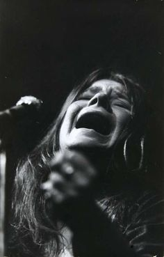 Janis Joplin, one of the most definitive voices of rock and blues
