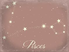 Pisces Star Constellation Art Print by Clarissa Di Nicola Pisces Star Constellation, Star Constellations, Constellation Tattoos, Star Tattoos, Finger Tattoos, Sleeve Tattoos, Tatoos, Sternkonstellation Tattoo, Piercing Tattoo