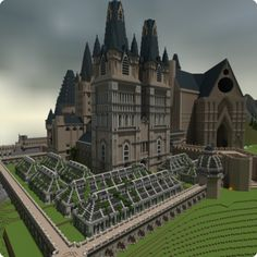 hogwarts minecraft More - Hogwarts Minecraft, Harry Potter Minecraft, Minecraft Castle, Minecraft Medieval, All Minecraft, Minecraft Designs, Minecraft Creations, Minecraft Kingdom, Minecraft Blueprints