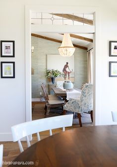 Alessandra 5 Light Chandelier by Ballard Designs  I  via Caitlin Creer Interiors and 6th Street Design School