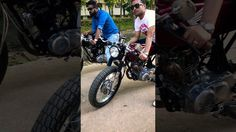 Latest finished projects by old school custom1977.cafe racer mymensingh - YouTube