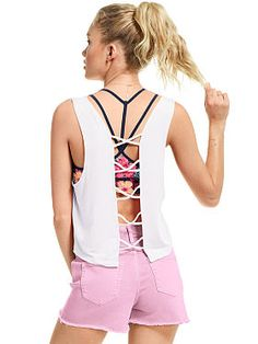 Super Soft Strappy Back Tank