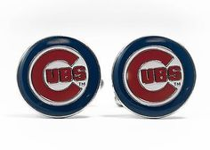 #Chicago cubs #cufflinks mlb #baseball,  View more on the LINK: 	http://www.zeppy.io/product/gb/2/112297617021/