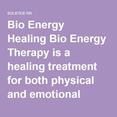 bio energy healing techniques pdf