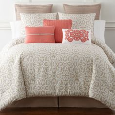 jcp | JCPenney Home™ Stonebridge 4-pc. Comforter Set & Accessories