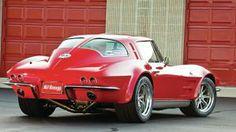 2011 LS7 Corvette de Mark Rife of Carolina Beach, NC (basado en el Corvette del 63)