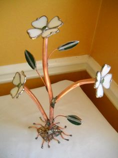 Stained Glass Dogwood 3D