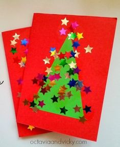 10 Easy Christmas Cards for Toddlers to Make 10 Easy, Last Minute Christmas Cards for Toddlers to Make<br> There's nothing as charming as a homemade card made by little hands! Try out these easy, last minute Christmas Cards for Toddlers to make and gift!