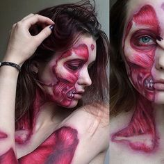 Pin for Later: This 19-Year-Old's Horror Makeup Creations Will Send Shivers Down Your Spine