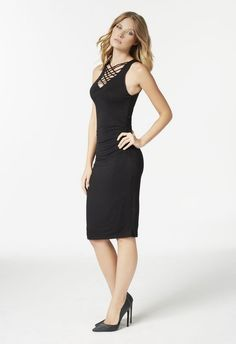 Project Runway Dress black- JustFab