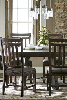 Arden Ridge Trestle Table Havertys Dining Room Pinterest