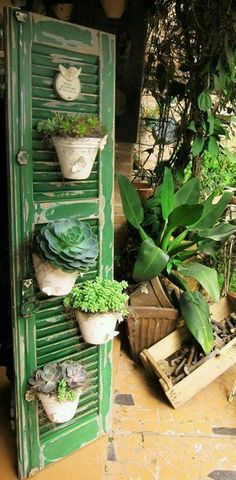 Vertical gardens have become fashionable and the truth is that we love them. A very clever way to enjoy the greenery inside and outside the house, saving the space. Here are some amazing vertical garden ideas to start with!