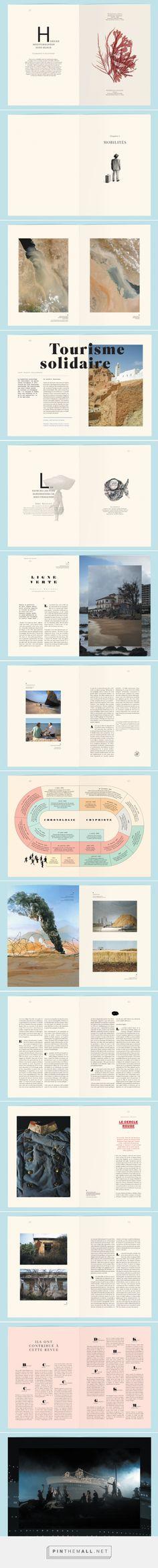Editorial Design Inspiration: La Villa Mediterranée by Violaine & Jeremy