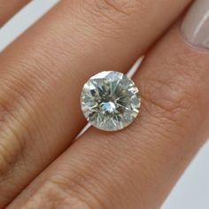 Certified 3 Carat Round Shape I SI1 Natural Loose Real Diamond- Clarity Enhanced #DiamondsCollection