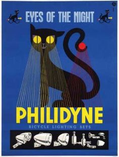 Eyes of the night - PHILIDYNE - Bicycle lighting sets -ad.