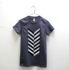 Feather Tee. I love the hand painted look of the design.