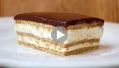 OMG, this might be my new favorite dessert recipe. The light, creamy taste of this No-Bake Chocolate Eclair Cake is out of this world delicious! No Bake Eclair Cake, Chocolate Eclair Cake, Chocolate Glaze, Frosting Recipes, Dessert Recipes, Desserts, Instant Pudding Mix, Vanilla Pudding Mix, Salty Cake