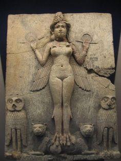 The Goddess Ishtar from the Epic of Gilgamesh- Mesopotamia