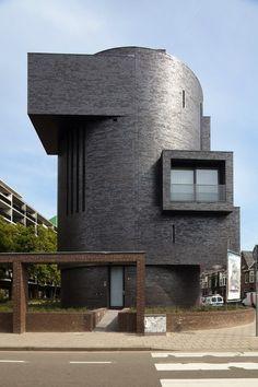 Two Unit Apartments. Netherlands. Designed by Dutch architect Bedaux de Brouwer.