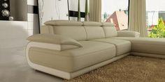 VIG Furniture Sectional Sofa VGEV6134 Beige   Appliances Connection