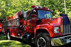 Local fire departments come out for Firefighter weekend!